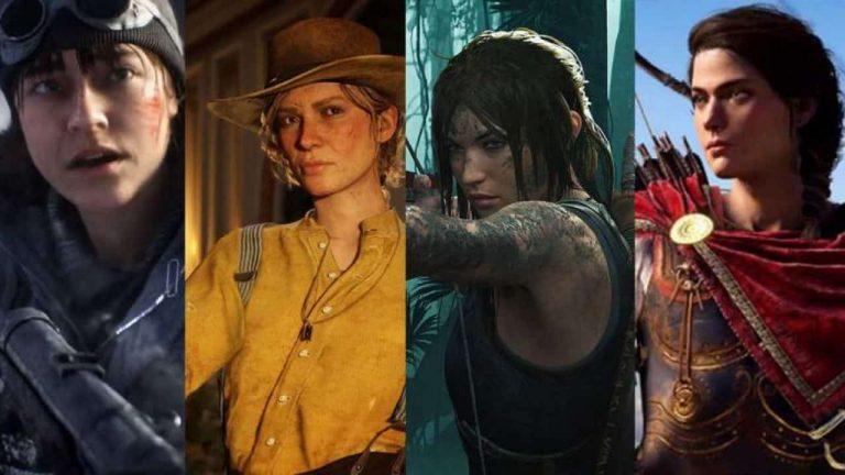 زن در بازی های ویدیویی در طول زمان