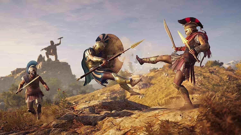 داستان بازی Assassins Creed Odyssey