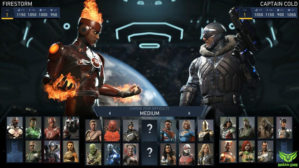 سیستم مورد نیاز بازی Injustice 2